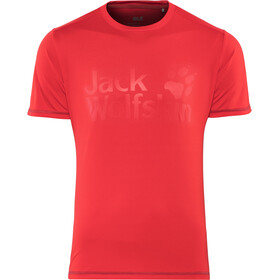 Jack Wolfskin Sierra Shortsleeve Shirt Men red